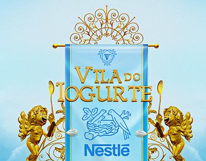 Vila do Iogurte - ativação conceitual