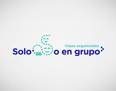 Solo o en grupo | Imagen corporativa | Diseño gráfico