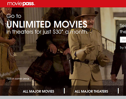 Movie Pass Web Application Development