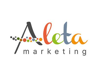 Logo & Brand Design - Aleta Marketing
