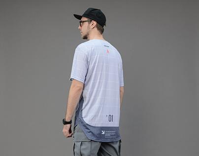 Tactic grey Grom tech tshirt