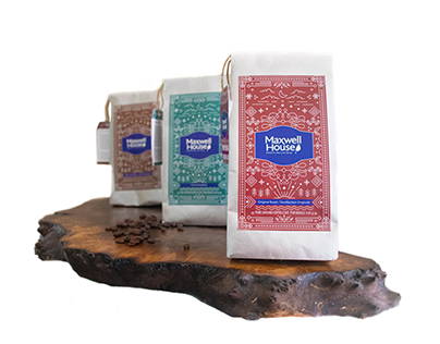 Maxwell House Coffee Packaging