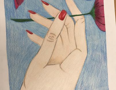 Line Project: Hand, Bella Rubal