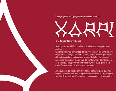 XARPI - tipografia