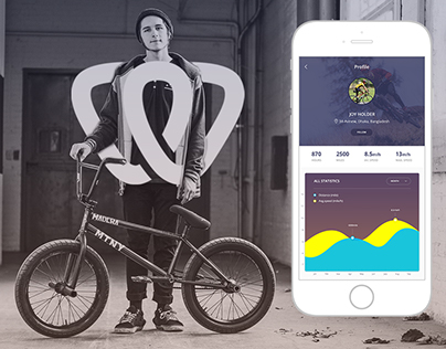 We Connect Mobile app for Cyclist