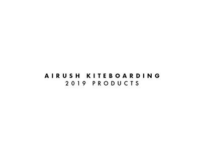 Airush Kiteboarding: 2019 Product Graphics