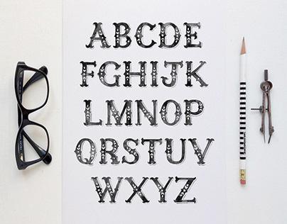 Watercolour Typeface Design