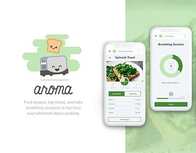 Aroma – Recipe Web App