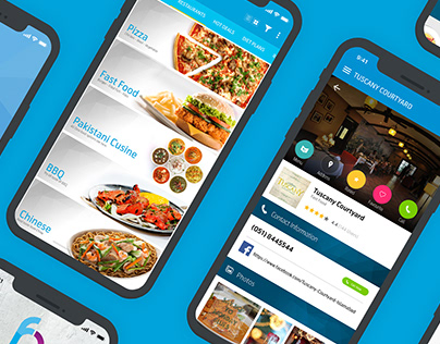 UIUX Case Study Food Court App