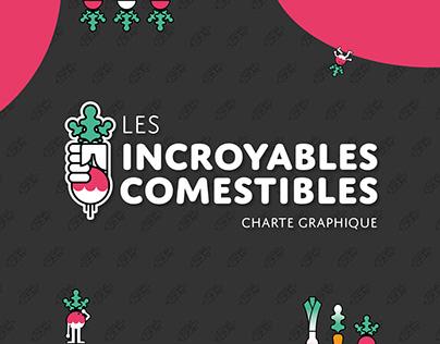 Charte graphique : Les Incroyables Comestibles (1/2)