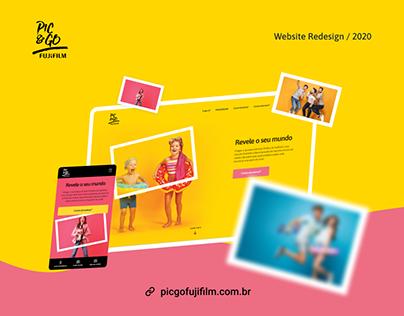 Pic&Go Fujifilm - Web Site