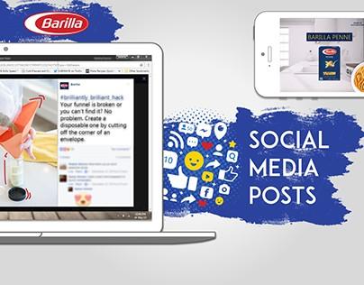 Barilla - social media posts