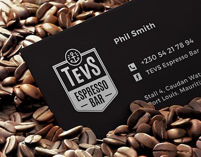 TEVS Espresso Bar - Corporate Identity