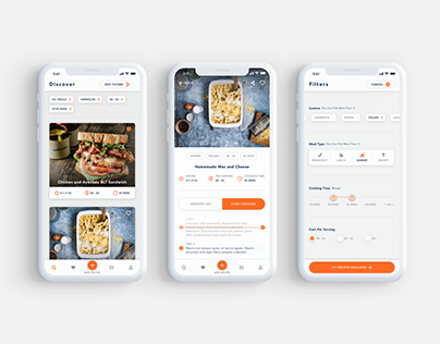 Comfort Foods - Recipe App