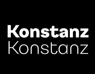 Konstanz Typeface