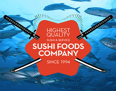 Website for Sushi Foods Company