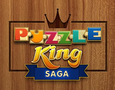 Puzzle King Saga app design