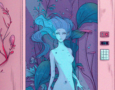 Personal Illustrations - Machine series