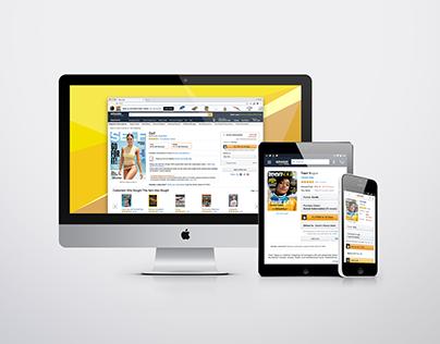 Amazon: Newsstand Detail Page Design