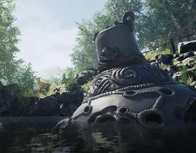 Guardian Botw 3D model