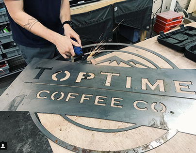 TopTime Coffee Co. - Creative Direction