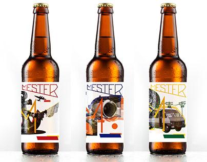 Mester beer labels