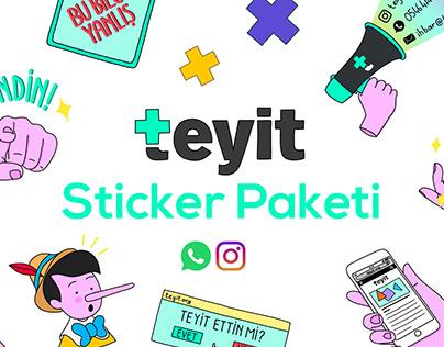 Teyit Sticker Paketi