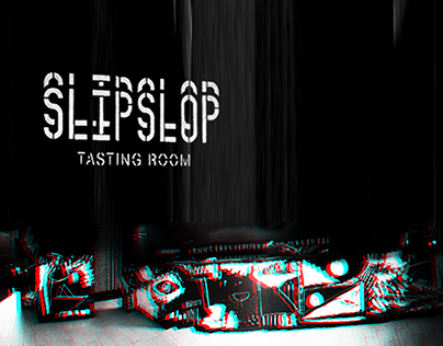 SLIPSLOP tasting room. Design & painting
