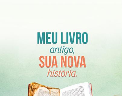 Meu livro antigo, sua nova história