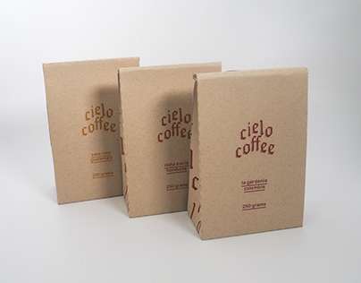 Cielo Coffee Branding & Packaging