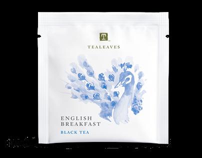 TEALEAVES Classic Teabag packaging refresh