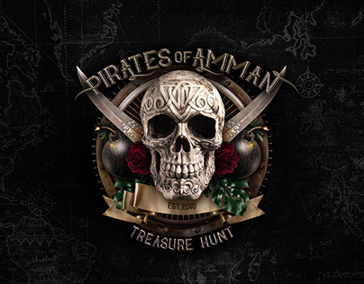 Pirates of Amman Treasure Hunt | Event Branding