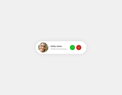 Daily UI | #078 | Pending Invitation