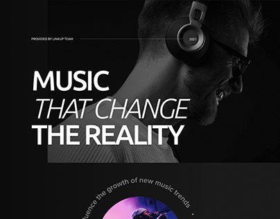 Music Platform - UI/UX Concept