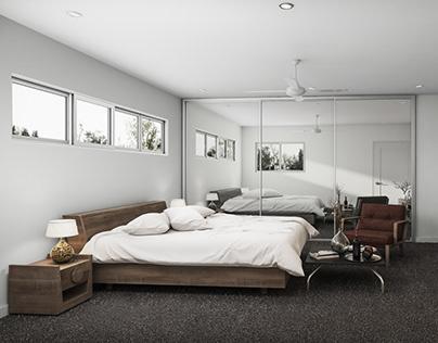 Master Bedroom CGI Render