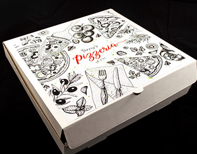 Pizza mock up - gift