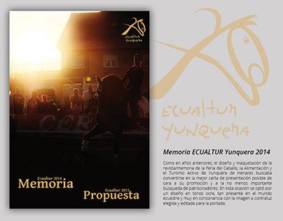 Memoria ECUALTUR 2014 y propuesta 2015