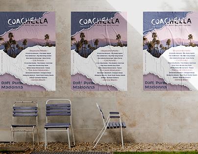Sweet Summer Evening / Coachella Poster Design