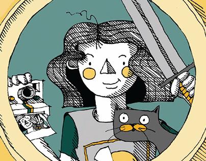 Illustrations pour le roman jeunesse LPQVDG