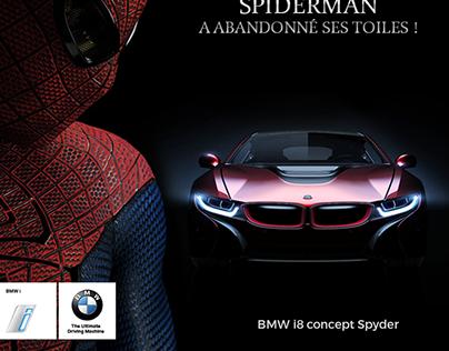 Emil Frey Genève  Ads BMW i8 Spyder