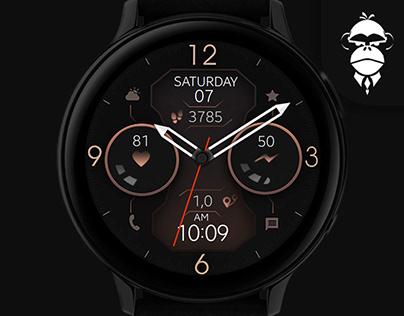 Dream 58 - Elegant & Futuristic Watch Face