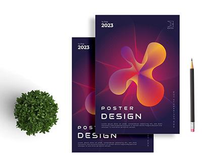 Creative Poster Design | Magazine Cover Design | Vector