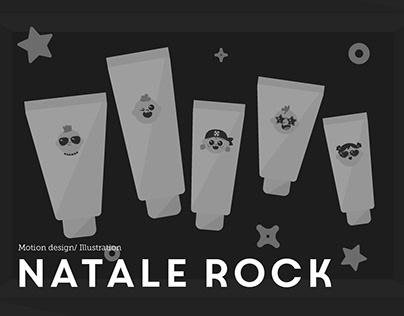 Un Natale Rock   Motion Design / Illustration