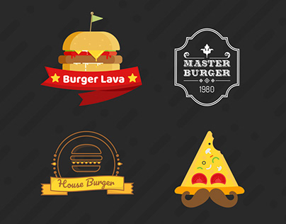 Over 70 Various Logos for Food Industry