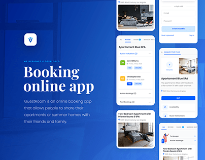 Guest Room - Booking online App
