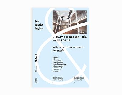 Les Mythologi.es. — exhibition