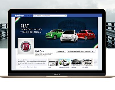 Fiat - Page tab y cover facebook
