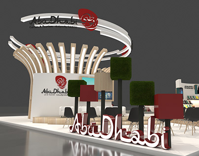 DCT Abu Dhabi exhibition stand