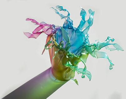 Melted - Flower vase