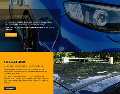 JM Dent Repair Web Design